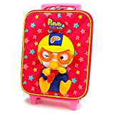 Pororo Little Kid Luggage Carry-on Hand Luggage (Pink)