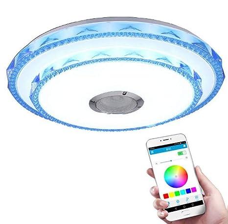 techo cristal LED Luz músicalámpara techo de para de de CWdoBrex