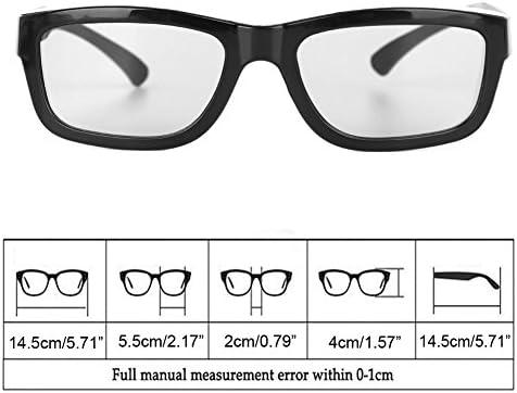 WEISHAZI - Gafas de estéreo 3D para televisores 3D (polarizadas), color negro: Amazon.es: Hogar