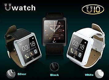 ARBUYSHOP Nuevo! U10 Plus Bluetooth inteligente reloj contra la pérdida de SmartWatch para iOS 6