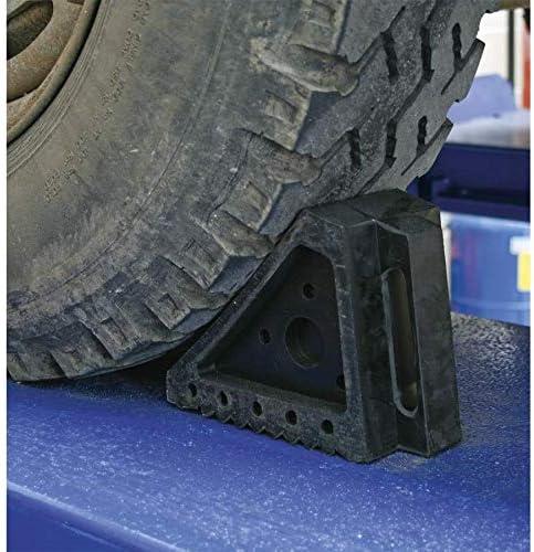 Single Sealey WC03 Rubber Wheel Chock 4.3kg
