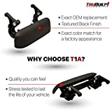 T1A Black Exterior Tailgate Handle Replacement