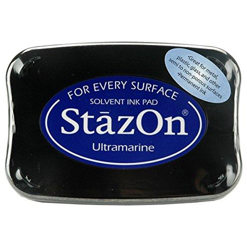 (StazOn Color Ink Pad Color: Ultramarine)