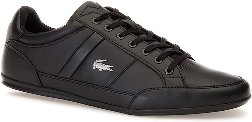 Lacoste Chaymon 119 2 CMA Mens Trainers Black Lace Up Shoes