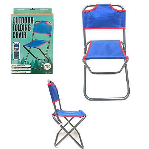 1 Folding Chair Child Outdoor Portable Beach Fishing Camping Lawn Seat Mesh New