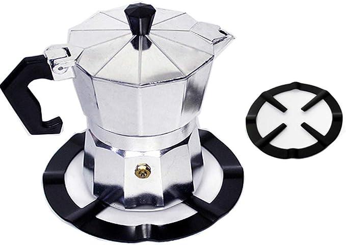Osun 1 soporte reductor de anillo para estufa de gas de hierro para café y maceta.