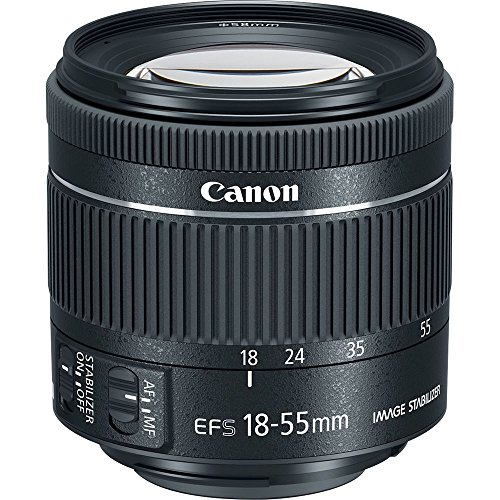 Canon EF-S 18-55mm f/4-5.6 IS STM Zoom Lens for Canon DSLR Cameras (Certified Refurbished)