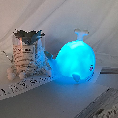 Gbell Cute Duck Baby Nursery Night Light for Kids Toddlers Gifts,Girls Small Fawn Whale Nightlights Lamp,for Bedrooms, Corridor,Bathroom,Home,Living Room,Nursery Bedroom,Office Decor,1Pcs