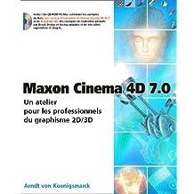 Maxon cinema 4d 7.0 peachpit press
