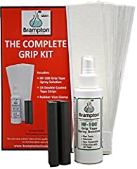Everything a golfer needs to regrip an entire set of golf clubs in an easy-to-use kit. No dangerous chemicals needed. The included 5-step instructions are simple for anyone to follow, even if you're not handy with tools. There's also an inclu...