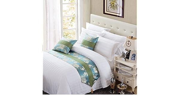 Desy toallas/toallas de Literie de la Hotel de bandera/sábanas de cama de hotel/fundas de almohada, 180*50 (1.2 m bed): Amazon.es: Hogar