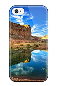 New Canyon Reflections Tpu Case Cover, Anti-scratch HHndSVm902dbmfQ Phone Case For Iphone 4/4s