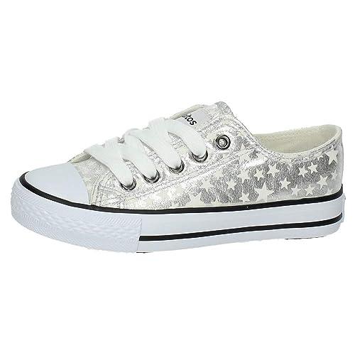 CONGUITOS JV128326 Lonas Estrellas NIÑA Zapatillas: Amazon.es: Zapatos y complementos