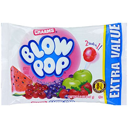 Charms Blow Pops, 5.2-oz. Extra Value Bag (Blo Pops)