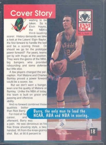 1995 Jam Pac Magazine #17-18 Rick Barry Warriors - Mint Condition Ships in a Brand New -