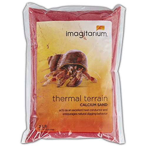 - Imagitarium Red Hermit Crab Sand, 2 lbs.