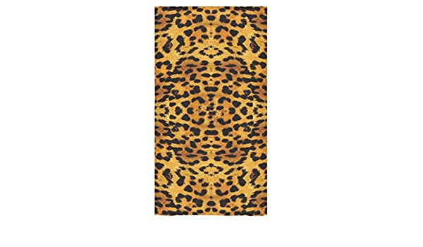Personalizado estampado de leopardo toalla de baño toalla de playa Baño Cuerpo Ducha (30