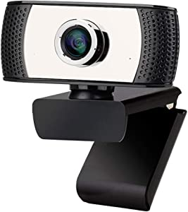 Hukphd Full HD Webcam,Computer Laptop Camera for Conference and Video Call, 1080P Camera,Built-in Mic, HD Electronic Accessories