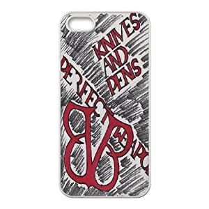 Custom High Quality WUCHAOGUI Phone case BVB - Black Veil Brides Music Band Protective Case For Apple Iphone 5 5S Cases - Case-4