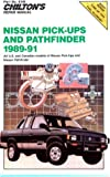 Nissan Pick-Ups and Pathfinder, 1989-91, Chilton Automotive Editorial Staff, 0801981468