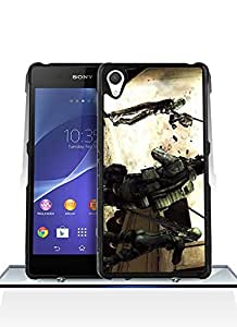 Cute Xperia Z2 Funda Case Resident Evil [Scratch - Resistant] Pattern For Boys Suit For Sony Xperia Z2 Funda Case Cover