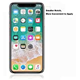 [3 Pack] iPhone X ( iPhone 10 ) Screen Protector, MaxTeck 0.26mm 9H Tempered Glass Screen Protector Anti-Shatter Film for iPhone X ( iPhone 10 ) [3D Touch Compatible]