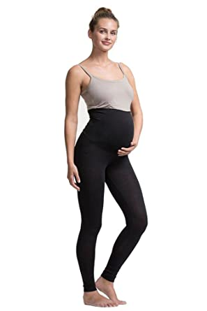 fab9a4fa6d Boob Once-On-Never-Off Maternity Leggings - Solid at Amazon Women s ...
