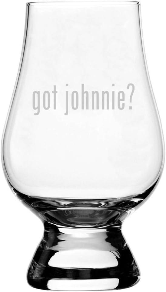 Got Johnnie? Etched Glencairn Crystal Whisky 5.9oz Snifter Tasting Glass