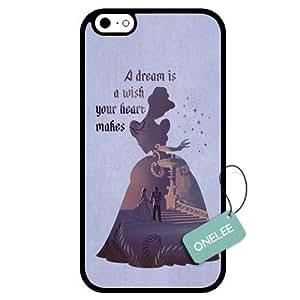 good case Customized Disney Cinderella Princess Art Design TPU Case Cover for Apple iPhone 6 plus 5.5 - Black 07