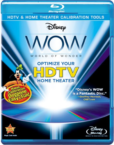 WOW: World Of Wonder HDTV and Home Theatre Calibration Tools - BD [Blu-ray] Goofy Instructional / Educational Movie Special Interest
