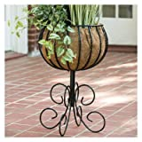 Blacksmith Round Pedestal Urn Planter Review
