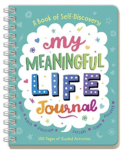 Peaceable Kingdom 'My Meaningful Life' Journal - A Book of Self-Discovery for Kids