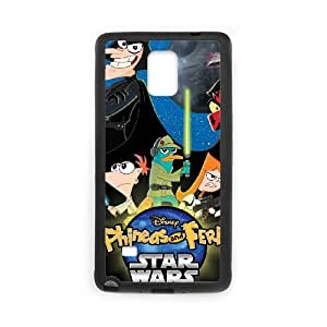 Phineas & Ferb Across the 2nd Dimension Samsung Galaxy Note 4 Cell Phone Case Black Okgra