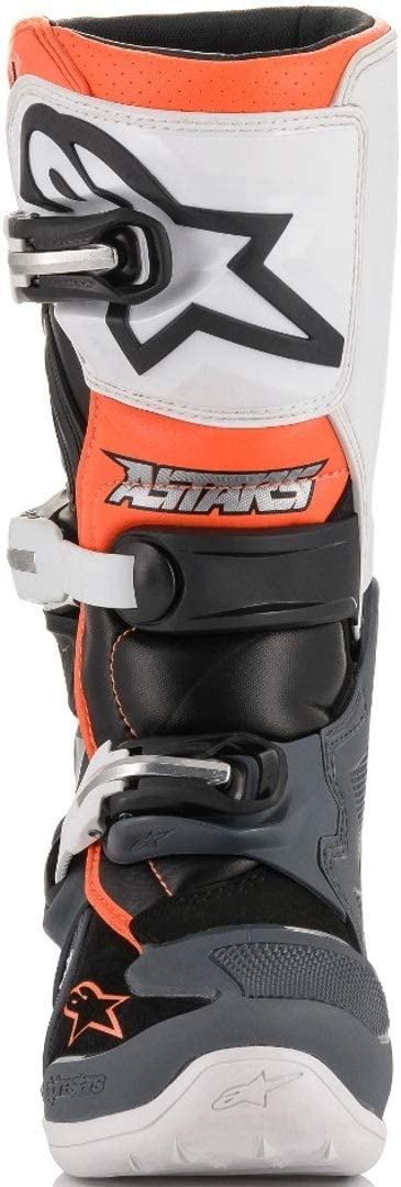 Blue//White//Red//Yellow, Size 7 Alpinestars Unisex-Child Tech 7S Youth Boots