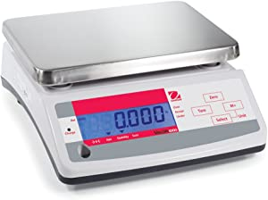 Ohaus Compact Bench Scales - Valor 1000 Compact Scales Model V11P30, 66lb x 0.01lb, 1058oz x 0.2oz, 30kg x 5g default resolution