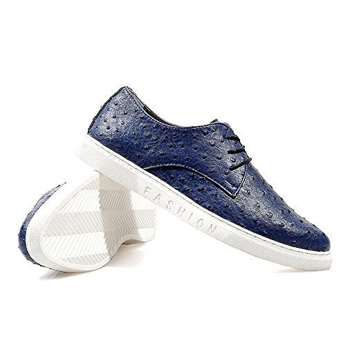 shoes EU Mocassini 5 Blu 39 uomo Hongjun Blue gq6ddw