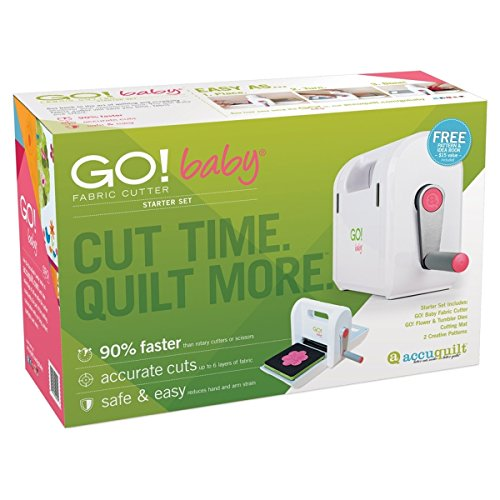 AccuQuilt GO! Baby Fabric Cutter Starter Set by AccuQuilt