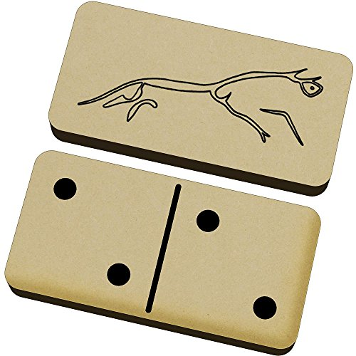 (Azeeda 'Uffington White Horse' Domino Set & Box (DM00014388))