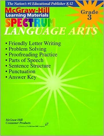 Amazon Com Language Arts Grade 3 Spectrum 0609746110433 Betty