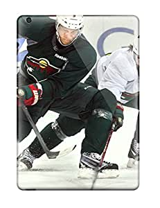 Jim Shaw Graff's Shop Best minnesota wild hockey nhl (49) NHL Sports & Colleges fashionable iPad Air cases