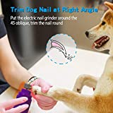 Rull Dog Nail Grinder, Low Noise Electric Pet