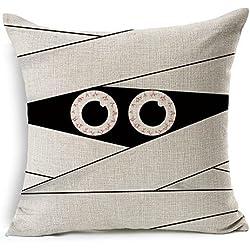 Dennis shop cvx47 (*) Vintage Mummy Halloween Gift Cushion Decorative Throw Pillow Case Pillow Cover 18 X 18 Inch
