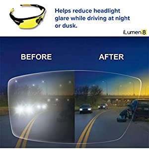 BEST Night Driving Glasses- Anti Glare Night Vision Reduce Eye Strain Men Women