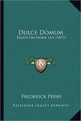 Short Essays In English Dulce Domum Essays On Home Life  Frederick Perry   Amazoncom Books Example Of A College Essay Paper also Thesis Statement For Comparison Essay Dulce Domum Essays On Home Life  Frederick Perry  English Learning Essay