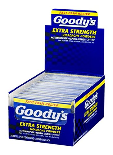 Goodys Extra Strength Headache Powder - Goody's Extra Strength Headache Powders - 24/6 CT