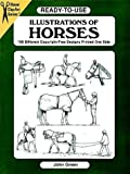 Ready-to-Use Illustrations of Horses, John Green, 0486404706