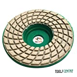 Tools Centre New!! 0-6 Grit 7Pcs Stone/Marble/Granite Polshing Wheel for 4'' Angle grinder