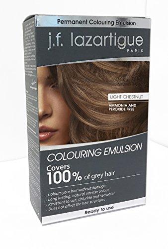 (J.F. Lazartigue Color Emulsion - Light Chestnut 2.03 oz. )