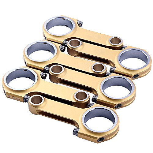 maXpeedingrods Connecting Rods with ARP 2000 Bolts for Porsche 911 2.4 2.7L (Racing - 911 Connecting Rod Porsche