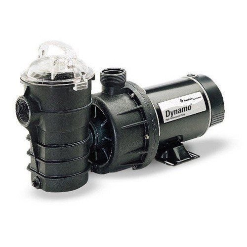 Pentair DYNII-NI-1-1/2 Dynamo Single Speed Aboveground Pool Pump with Cord, Base and On or Off Switch, 1-1/2 HP by Pentair